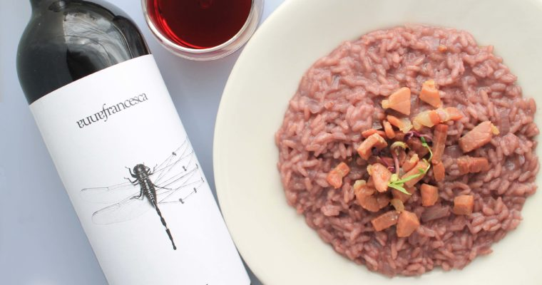 Risotto with Merlot Annafrancesca – not just any red wine